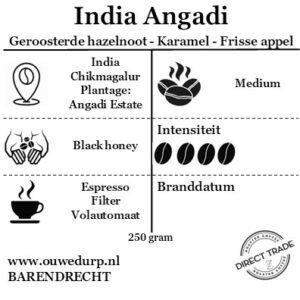 India Angadi direct trade koffiebonen