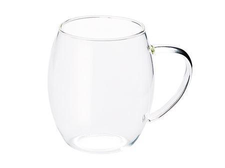 Glazen theeglas groot