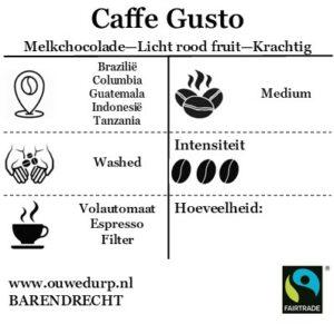 Caffe Gusto Koffiebonen