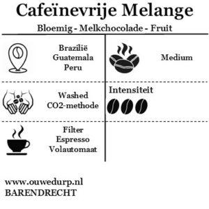 Cafeïnevrije Melange Koffiebonen