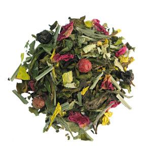 Losse thee met frisse en fruitige smaak