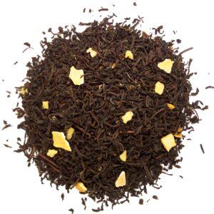 Losse zwarte thee met citroen