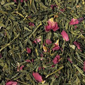 Losse groene thee met kers