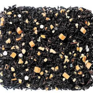 Losse zwarte thee met karamel