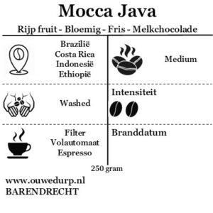 Mocca Java koffiebonen