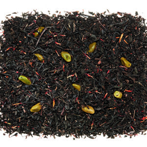 Losse zwarte thee met pistache