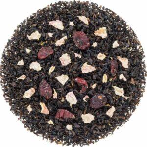 Biologische losse zwarte thee met cranberry