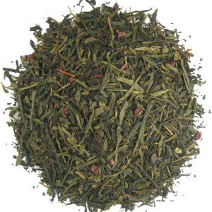 Losse groene thee met vanille
