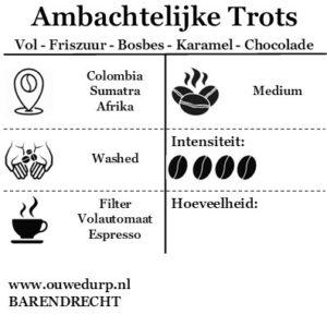Ambachtelijke Trots Koffiebonen