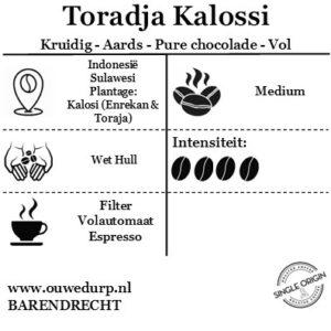 Toradja Kalossi Koffiebonen