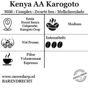 Kenya AA Karogoto Koffiebonen